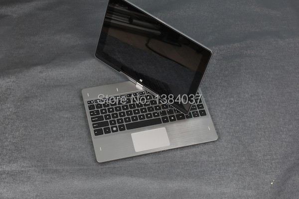 Free shipping 11.6 Inch Rotation Laptops 2G 160GB Silver Window 8.0 Capacitance Touch 1366*768 2.0 Million Pixels R116(China (Mainland))