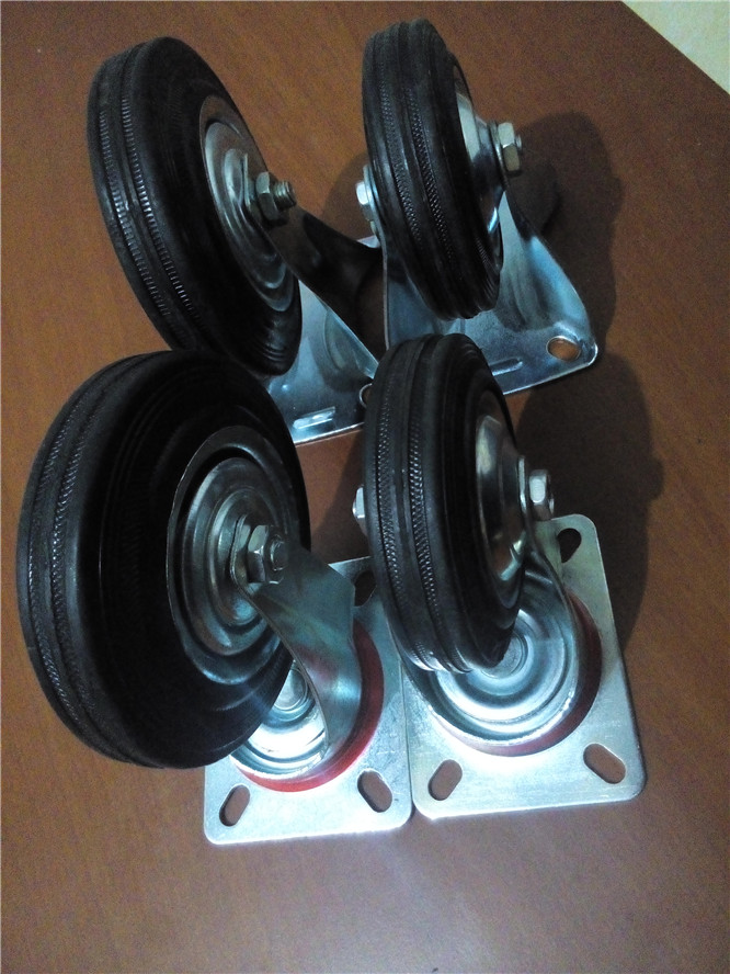 Гаджет  Special 45 -inch dual bearing wear rubber casters industrial caster wheels furniture wheel flatbed carts None Мебель
