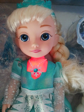 """12 Inch Princess Elsa Doll singing """"Let it go"""" Musical Doll Elsa Light With Safe Material Best Gift For Girl(China (Mainland))"""