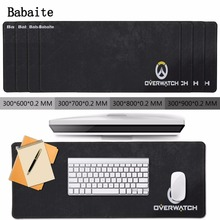 Buy Babaite Mouse pad Large Overwatch Gaming Mouse Pad Gamer Locking Edge Mouse Keyboards Mat overlock gaming mouse laser LX 900MM for $8.48 in AliExpress store