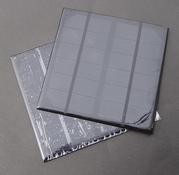 3W 6V Mini Monocrystalline Solar Panels For 3.6V Battery Charger Solar Led Light Solar Cell 145*145*3MM 2pcs/lot Free Shipping(China (Mainland))