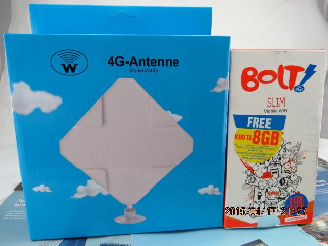 4g LTE Antenna 35dbi Ts9 Connector Booster Signal Amplifier +hotspot Huawei Bolt E5372s