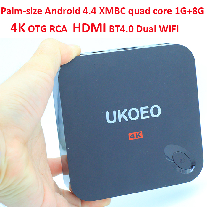 2015 NEW Mini 4k android mx3 tv box xbmc quad core 1G 8G Android 4.4 mxiii S802 BT4.0 WIFI 2.4G/5G RJ45 HDMI RCA T-flash - HongKong Morjava Tech Limited store