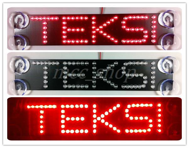 NEW high quality Third generation TEKSI led car light additional brake lights Malaysia teksi taxi(China (Mainland))