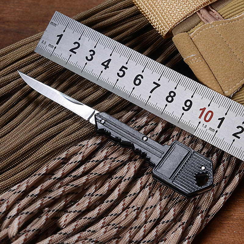1Piece Mini Key Knife Folding Pocket Knife Key Chain Knife Tactical Portable Camping Key Ring Utility Small Survival Knife Tools(China (Mainland))