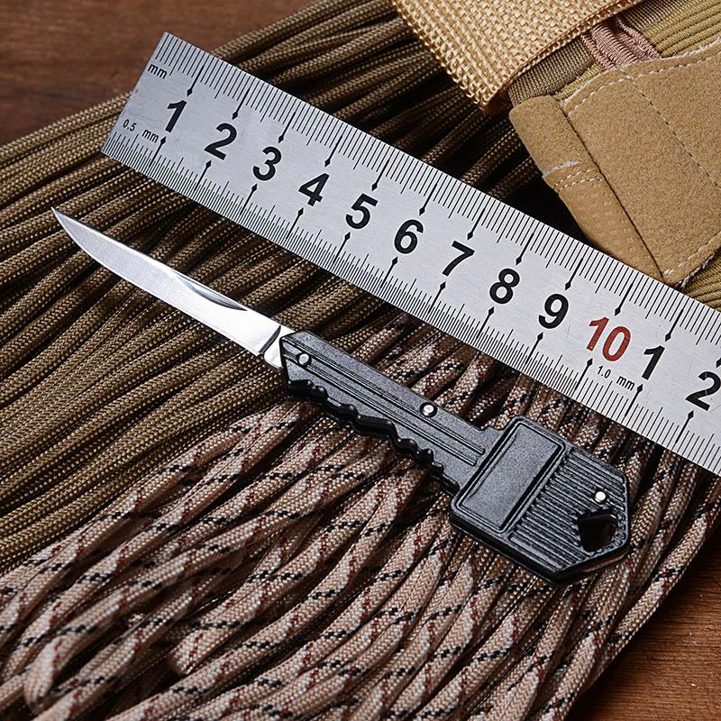 1Piece Mini Key Knife Folding Pocket Knife Key Chain Knife Tactical Portable Camping Key Ring Utility Small Survival Knife Tools(China (Mainland))