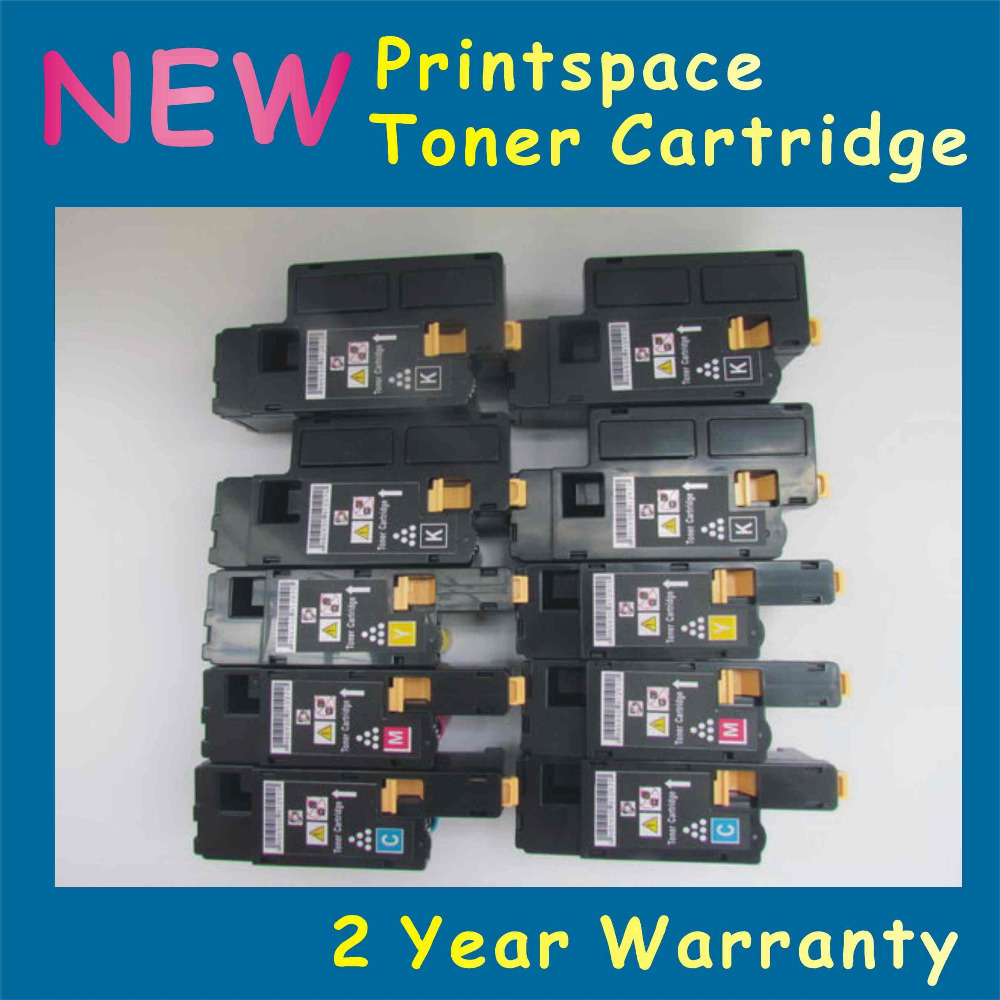 10x  NON-OEM Toner Cartridges Compatible For Xerox phaser 6020 6022 Workcentre 6025 6027 (2Sets)<br><br>Aliexpress