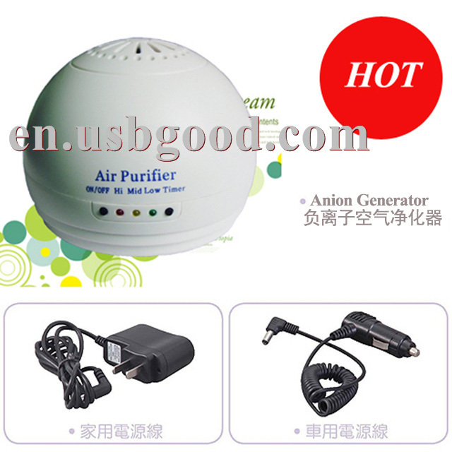 anion generator for air purifier