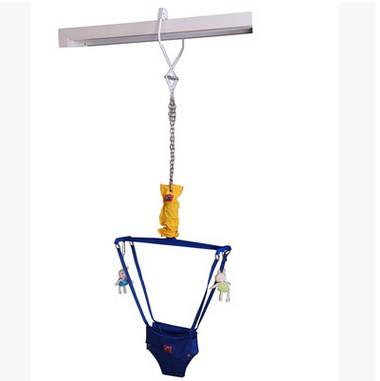 ребенок висит безопасный прыгающий стул младенцев упражнения фитнес-баланс кадра/игрушки