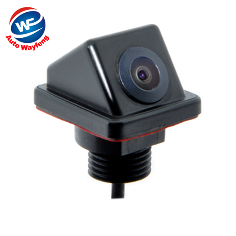 Car Rearview Rear View Camera Front View side Reverse Backup Color Camera 170 Wide Angle Night Vision Camera(China (Mainland))