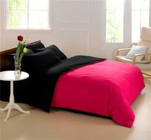 純粋な色江南ホームテキスタイル綿4倍の契約したアメリカンダブルベッドカバーベッド寝具袋の綿の寝具