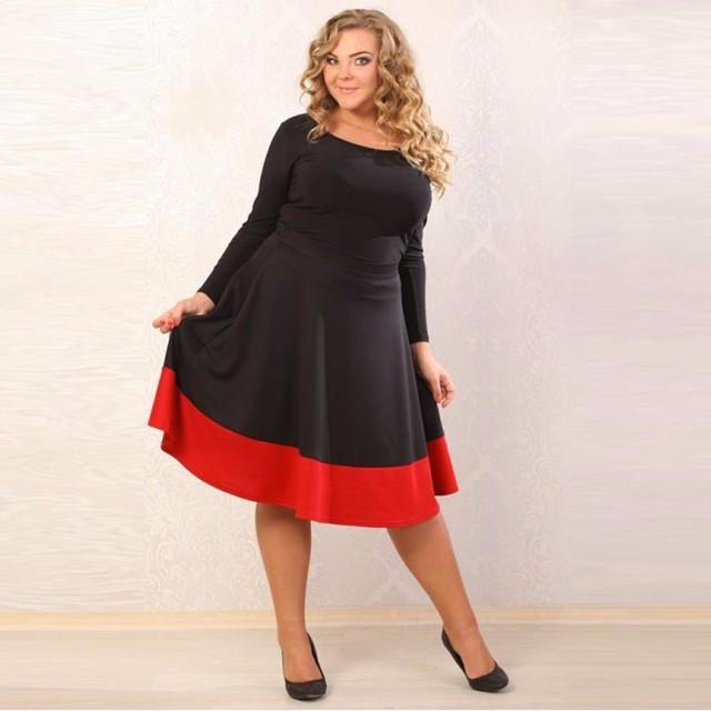 A line dress plus size knee – Dress best style blog