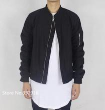 cool exclusive bomber jacket men kanye west hip hop brand last kings hba pyrex yeezus designer casual biker hoodie streetwear (China (Mainland))