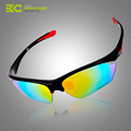 Hot Sale 5Lens Polarizing Cycling Glasses 2016 PC Frame Cycling Eyewear Cycling Sunglasses Bike Sport Glasses