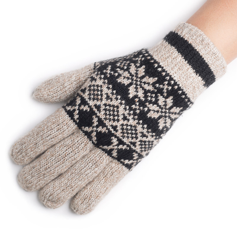 2015 Direct Selling Sale Fashion Free Wrist Print Gloves Mittens Men's Winter Heat Preservation With Thick Gloves To Knitted(China (Mainland))