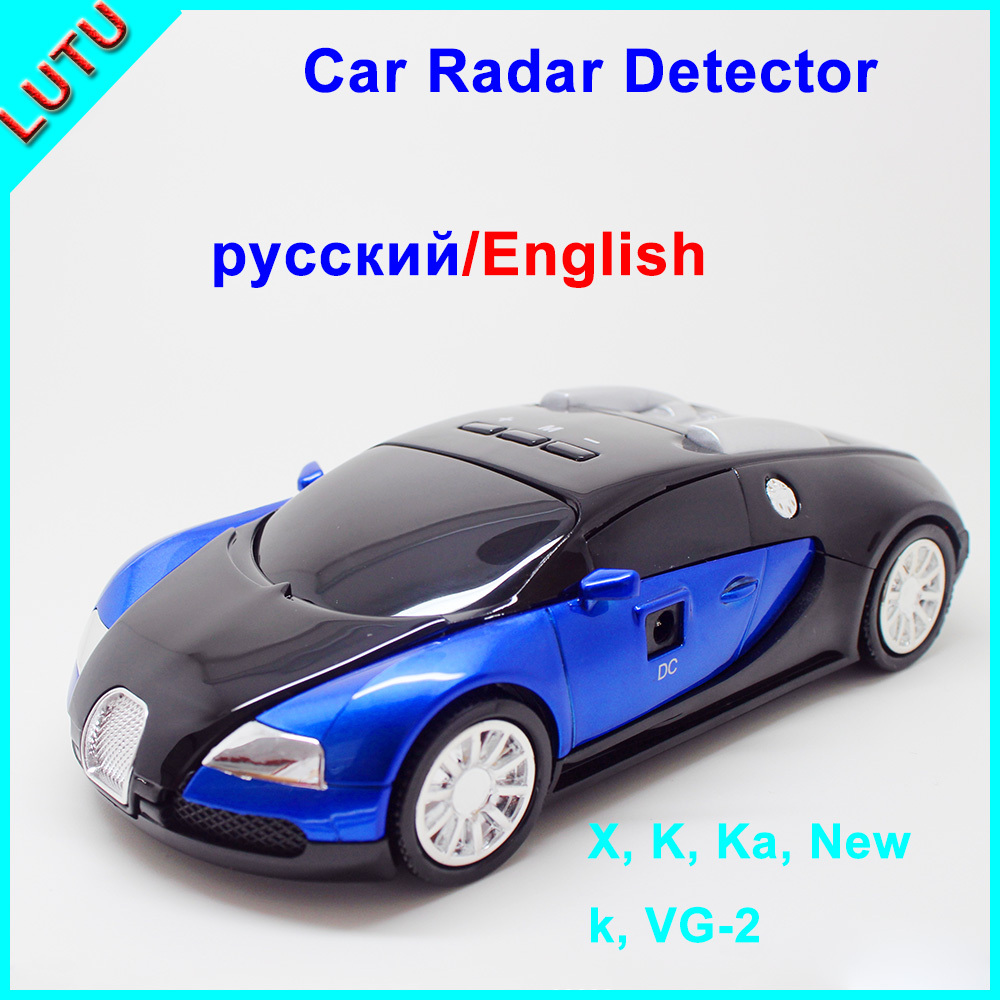 Best Seller Full Band English and Russian option Voice Safety Alert With LED for Car speed Display Radar Detector