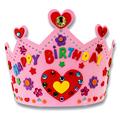 New 3D EVA Handmade Crown Craft Gifts Kits Birthday Crown DIY Hat Craft Toy FCI