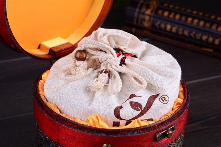 Puer Tea Box Gift Chinese Organic Ripe Puerh Health Care Slimming Cooked Pu Er Chinese Food Health Care Three-pressure Lowering cheap