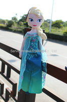 New Arrival Fever 40cm 50cm boneca Elsa Doll Princess Anna and Elsa plush Dolls for girls Toys Children gift Free Shipping