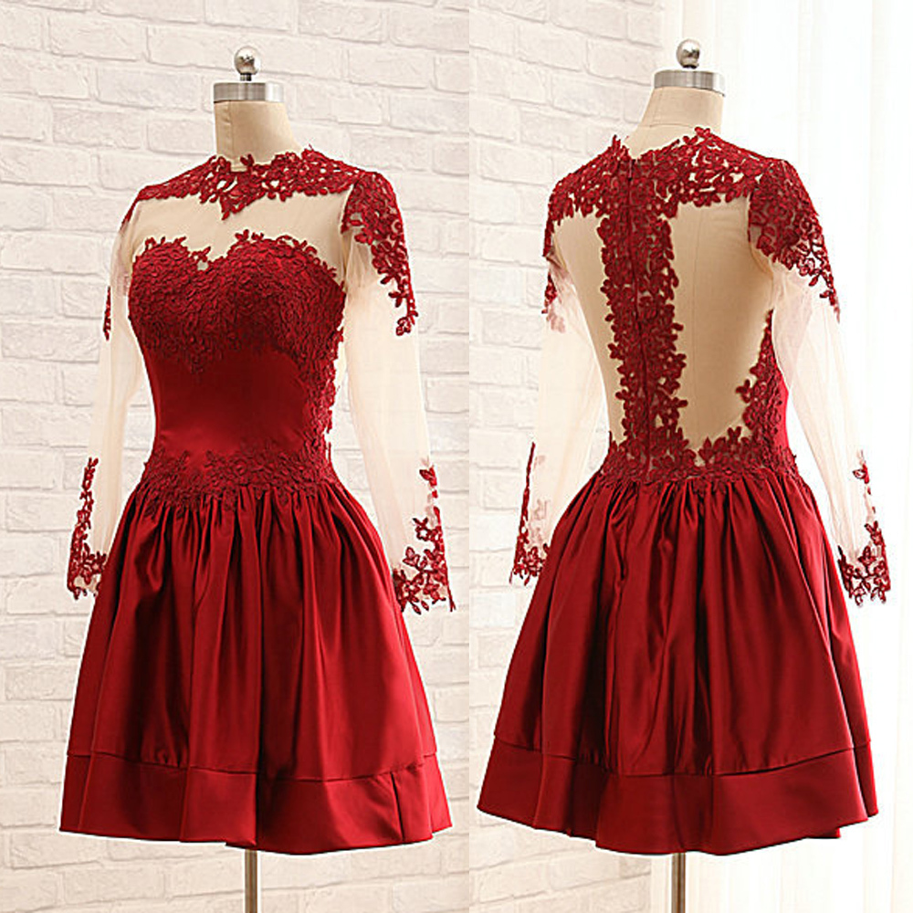 Semi Formal Red Dress