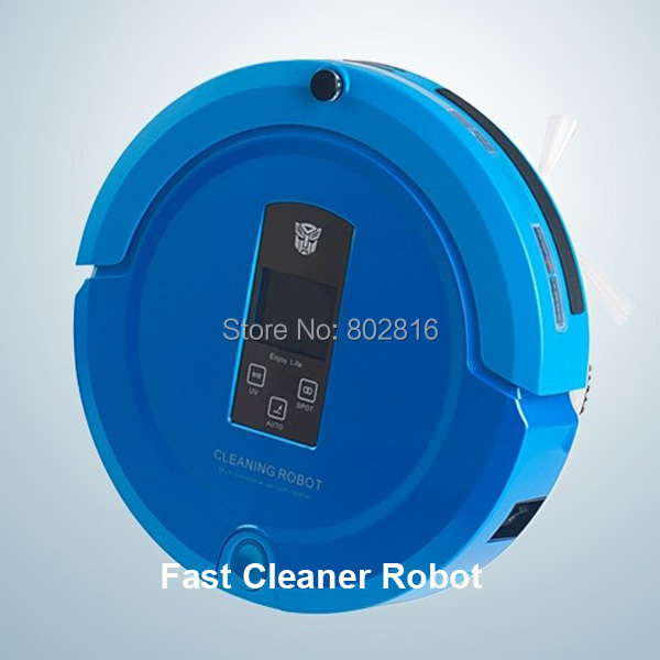 (Free to Russia) 4 In 1 Multifunction Intelligent Vacuum Cleaner(Sweep,Vacuum,Mop,Sterilize),Shining Logo,Long Working Time,
