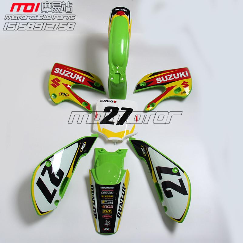 KLX110 Plastics Body Kits + 3m graphics Decals Sticker Kit for KX65 KLX110 KX 65 KLX 110 MOTORCYCLE dirt bike/pit bike USE(China (Mainland))