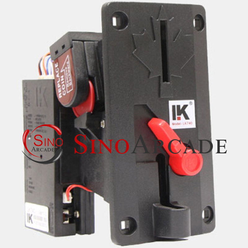 LK740 Mechanical Coin Selector coin Acceptor LK740 for Vending machines / Arcade machines(China (Mainland))