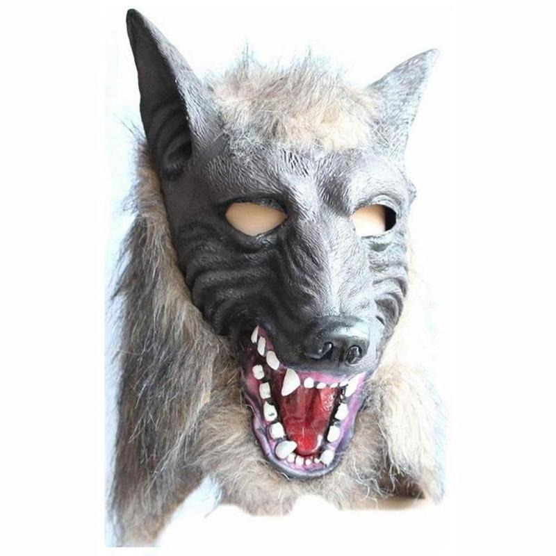 Cosplay Halloween Cosplay Wolf Head Festival Party Halloween Masquerade Mask DIY Cosplay Mask Wolf Head Halloween Mask A6(China (Mainland))