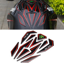 Universal Reflective 3D Motorcycle Sticker Fuel Tank Protector Pad Cover Decoration Decal for Honda KTM Yamaha Kawasaki Suzuki(China (Mainland))