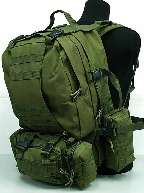 SWAT US Airsoft Tactical Molle Assault Backpack Bag OD military backpack<br><br>Aliexpress