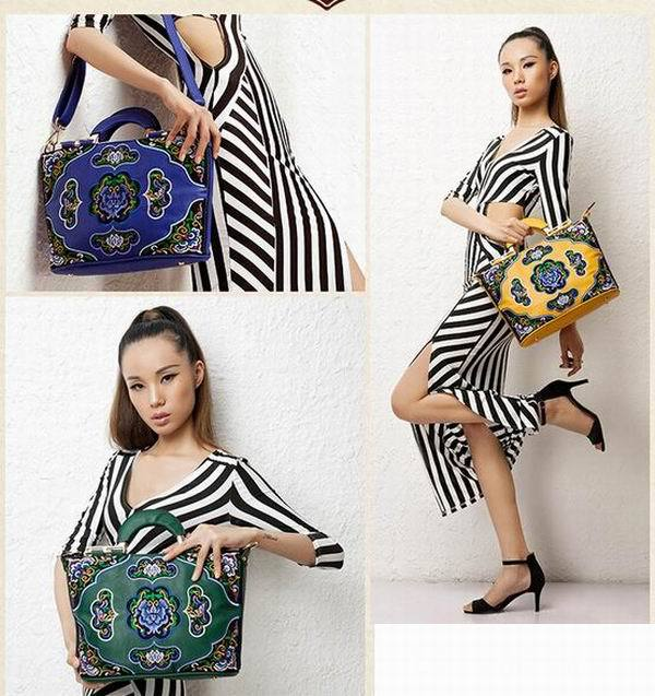 9213 Original design ethnic evening bags, Chinese style embroidery ethnic shoulder bags women handbag(China (Mainland))