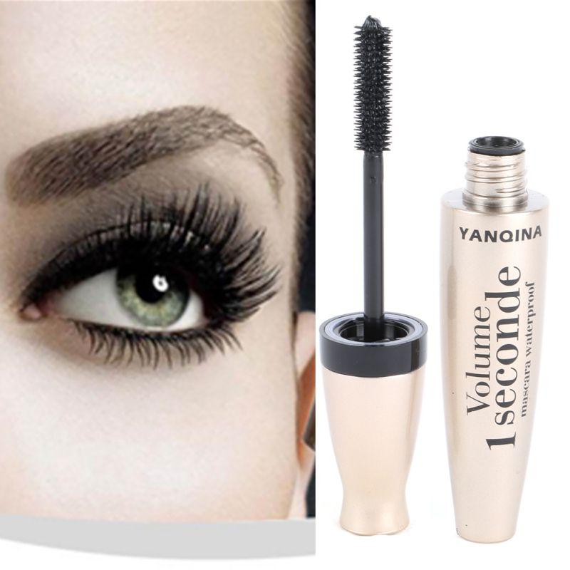 3D Fiber Mascara Long Black Lash Eyelash Extension Waterproof Eye Makeup(China (Mainland))