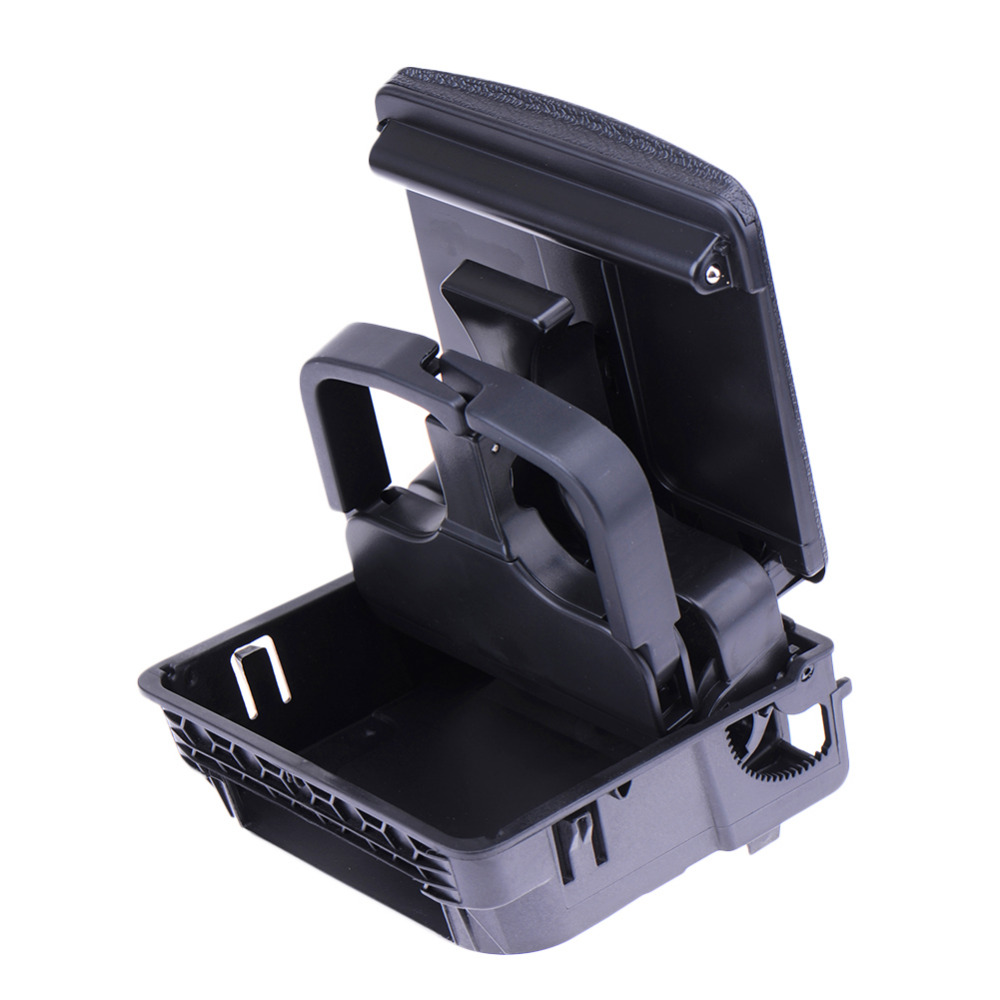 Car Central Console Armrest Rear Cup Holder Box For VW for Jetta for Golf/GTI MK5 MK6 Car Accessories Drop Shipping<br><br>Aliexpress