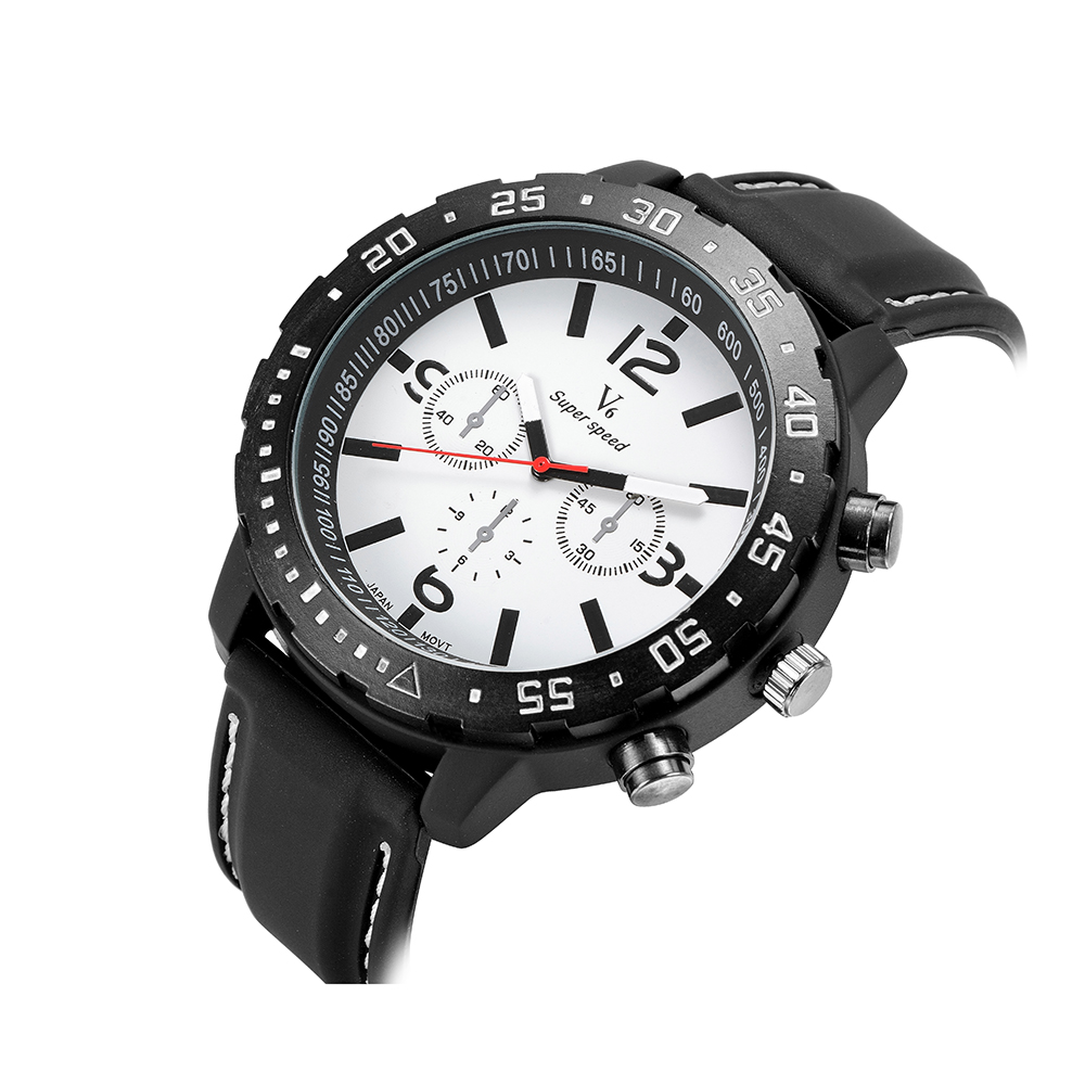 BGG watch New V6 brand silicone watch Fashion Men Quartz Sports Watch luxury Male Casual Wristwatch student clock military watch<br><br>Aliexpress
