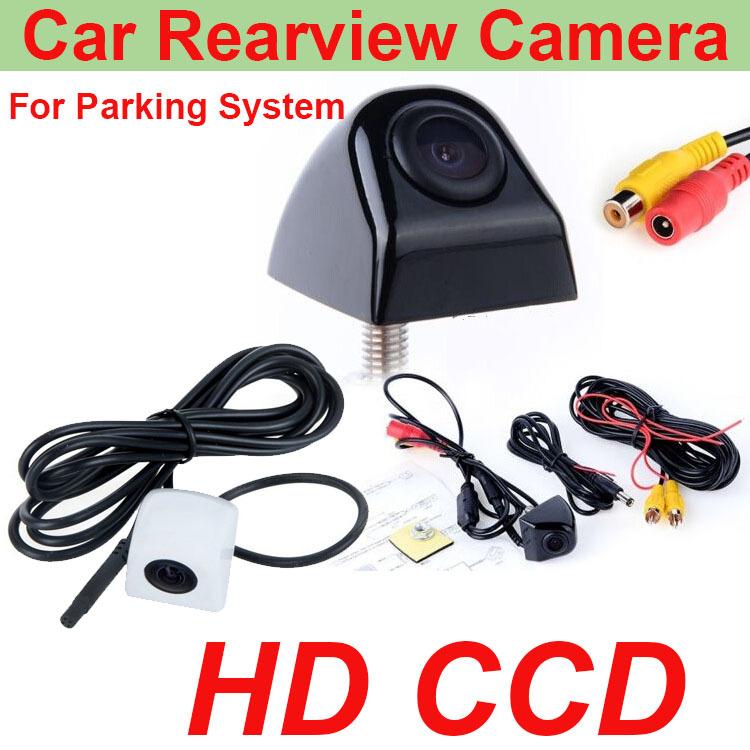 2015 Waterproof  universal Car rear view camera CCD HD PAL car parking backup camera reversing camera color night vision 4colors(China (Mainland))