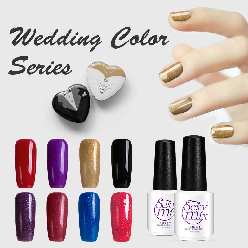 Bridal Gel Nail Polish: Popular Wedding Nail Color-Buy Cheap Wedding Nail Color