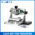 GRBL control Diy 1610 mini CNC machine working area 16x10x3cm 3 Axis Pcb Milling machine Wood