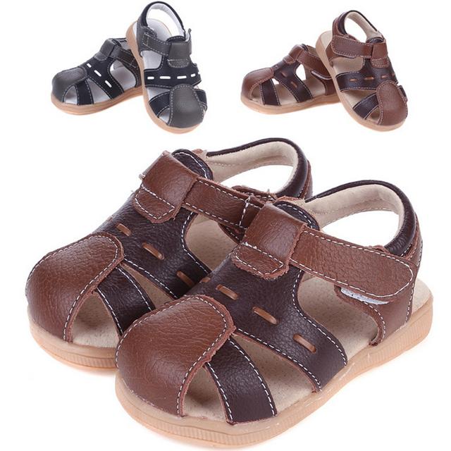 2016 летний ребенок из натуральной кожи маленьких детскую обувь реальная кожа детей ...