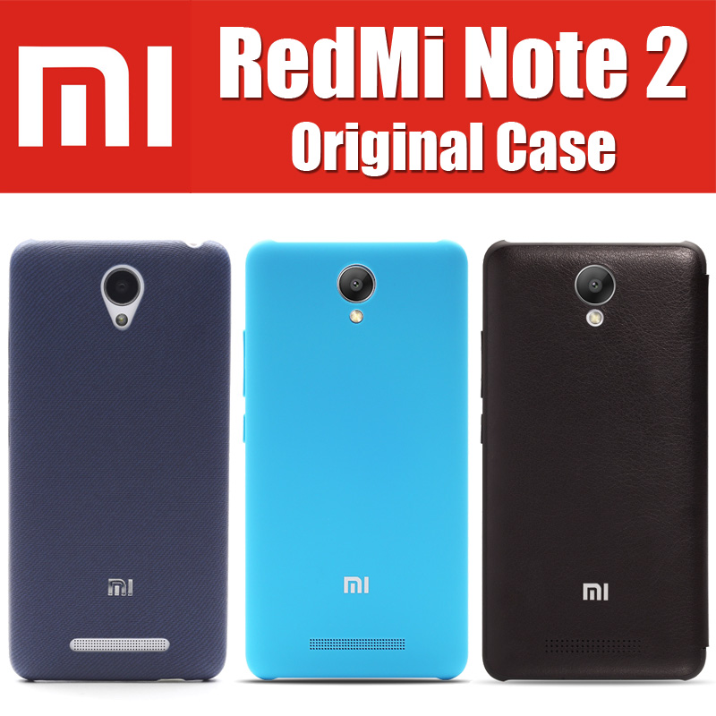 Helio X10 in stock it's real original for xiaomi redmi note 2 case flip sabic matte leather cover 5.5 inch hongmi 2rd ROHS0813(China (Mainland))