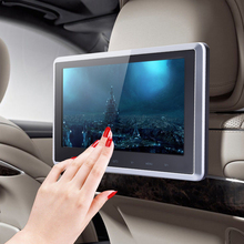 """Free Shipping HDMI 10"""" HD Digital LCD Screen Car Headrest Monitor DVD/USB/SD Player IR/FM with Remote Controller/Mount Bracket(China (Mainland))"""