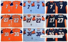 Denver Broncos,Dennis Smith,John Elway,Terrell Davis Gary Zimmerman Dennis Smith Shannon Sharpe Karl Mecklenburg Throwback(China (Mainland))