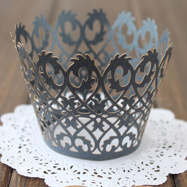 Laser Cut Cupcake Wrappers Picture
