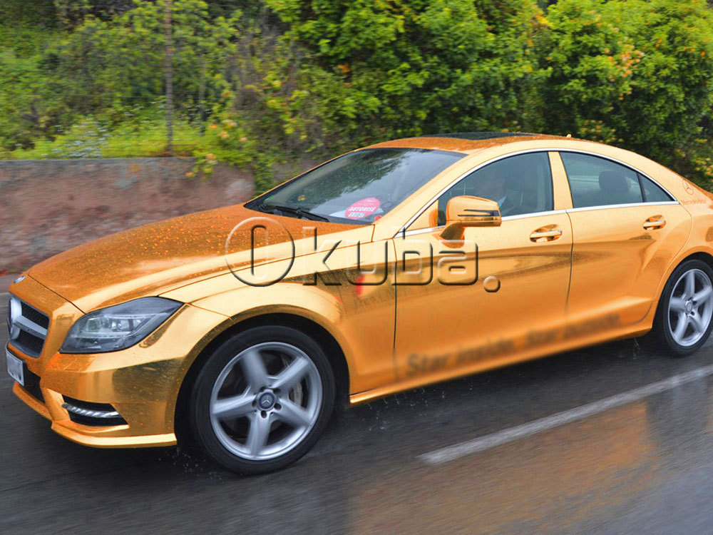 Gold Chrome Cars Pictures to Pin on Pinterest