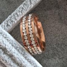 Size7 8 9 10 11 12 13 14 high quality luxury Double Row channel CZ diamond