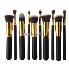 High Quality Maquiagem Makeup brushes 10PCS/LOT Beauty Cosmetics Foundation Blending Blush Make up Brush tool Kit Set
