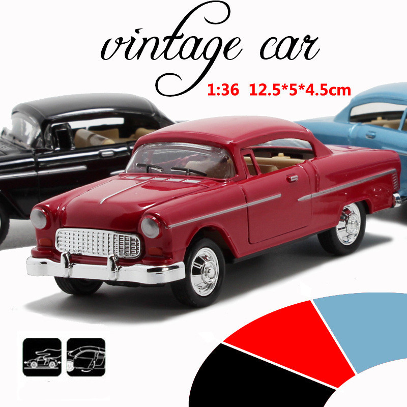 Dodge Classic Car 1:36 scale alloy pull back car, Retro Diecast model toy,Best gift,Alloy toys,free shipping(China (Mainland))