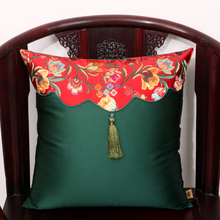 Tassel Lumbar pillow Sets Chinese style