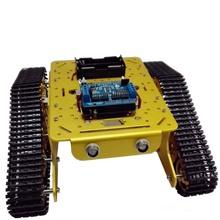 Sans fil WiFi RC Full Metal réservoir T300 de ESPDUINO Kit de développement avec L293D bouclier Motor bricolage RC toy chenilles chenilles modèle jouet(China (Mainland))