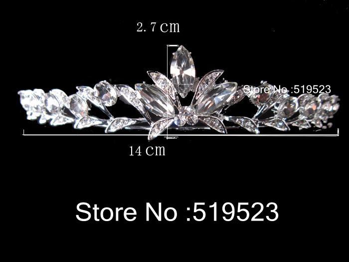High Quality Crystal Bridal Tiara Crown Headpiece Fashion Hair Accessories Wedding Hair Jewely