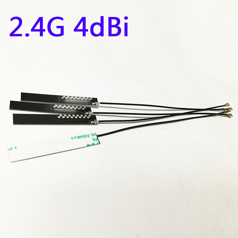 Wifi Antenna 2.4G 4dbi gain with Omni IPEX antenna connector signal booster NEW Wholesale(China (Mainland))